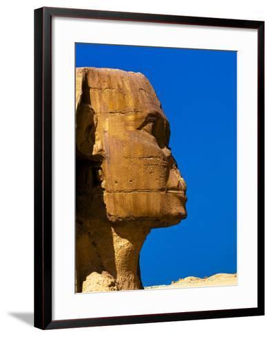 Detail of Great Sphinx at Giza-Blaine Harrington-Framed Art Print