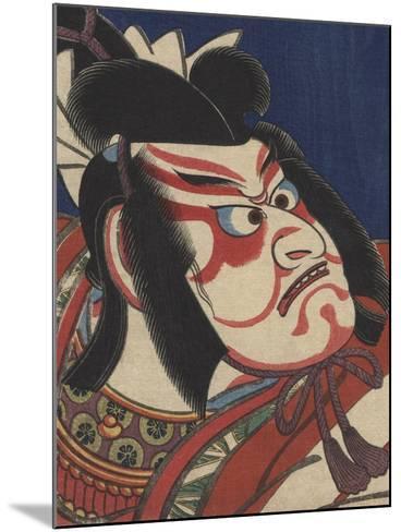 Detail of Two Kabuki Actors-Torii Kiyomitsu II and Toyokuni III-Mounted Photographic Print