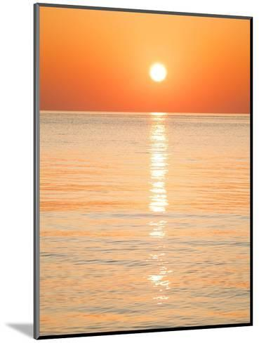 Sunlight Reflecting on Ocean at Sunset-Frank Lukasseck-Mounted Photographic Print