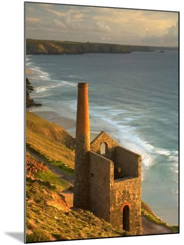 Smokestack in St. Agnes-Lee Pengelly-Mounted Photographic Print