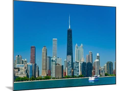 Chicago skyline-Bob Krist-Mounted Photographic Print