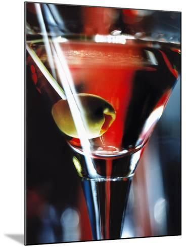 Dry Martini-Bruno Ehrs-Mounted Photographic Print