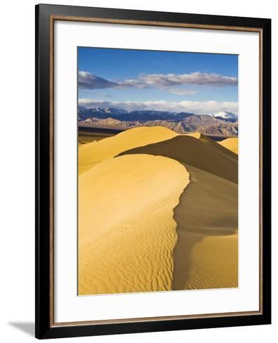 Sand Dunes in Death Valley-Rudy Sulgan-Framed Art Print