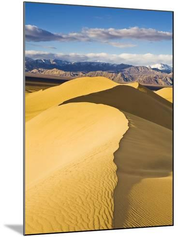 Sand Dunes in Death Valley-Rudy Sulgan-Mounted Photographic Print