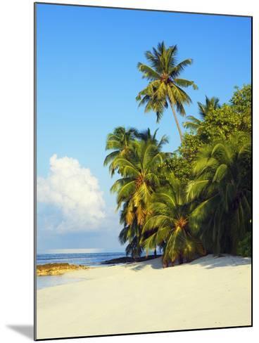 Beach at Soneva Fushi Resort in the Baa Atoll-Frank Krahmer-Mounted Photographic Print