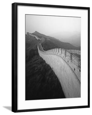 The Great Wall of China-George Hammerstein-Framed Art Print