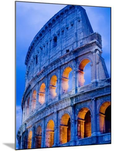 Colosseum at Dusk-Bob Krist-Mounted Photographic Print