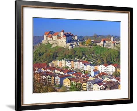 Village Burghausen, Germany-Walter Geiersperger-Framed Art Print