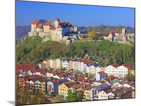 Village Burghausen, Germany-Walter Geiersperger-Mounted Photographic Print
