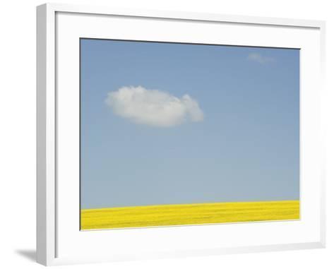 Wiltshire landscape-John Harper-Framed Art Print