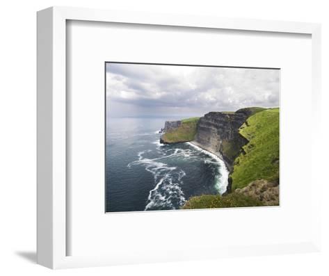 Cliffs of Moher-Tom Hanslien-Framed Art Print