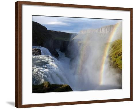 Gullfoss Waterfall, Iceland-Paul Souders-Framed Art Print