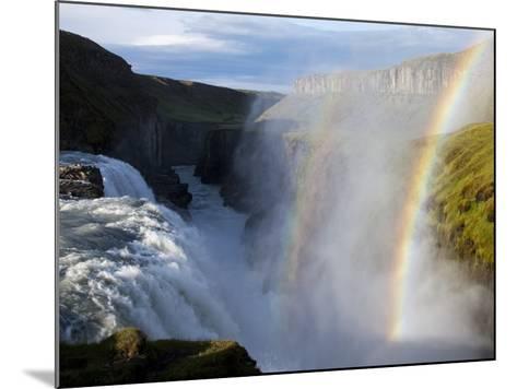 Gullfoss Waterfall, Iceland-Paul Souders-Mounted Photographic Print