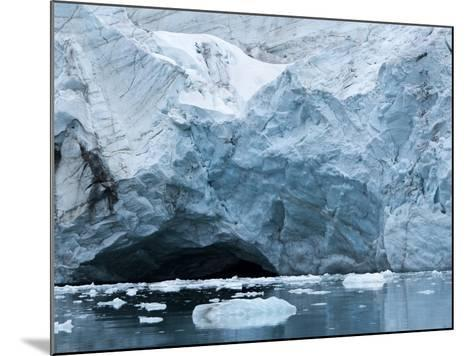 Glacier Ice, Spitsbergen Island, Svalbard, Norway-Paul Souders-Mounted Photographic Print