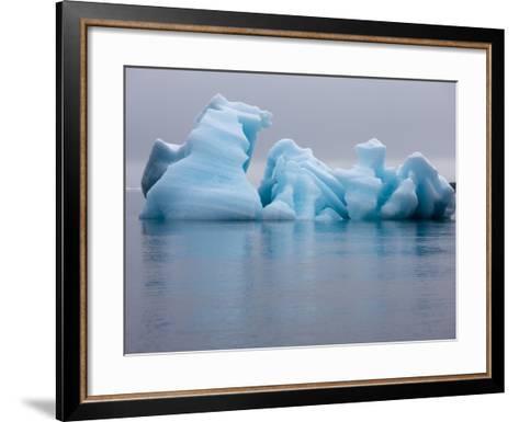 Iceberg, Svalbard, Norway-Paul Souders-Framed Art Print
