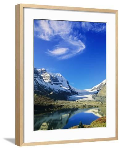 Athabasca Glacier Scenic, Jasper National Park, Alberta, Canada-Mike Grandmaison-Framed Art Print