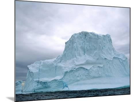 Iceberg, Witless Bay Ecological Reserve, Newfoundland, Canada-Barrett & Mackay-Mounted Photographic Print