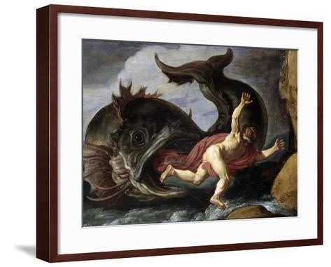Jonah and the Whale--Framed Art Print