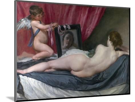 The Rokeby Venus-Diego Velazquez-Mounted Photographic Print