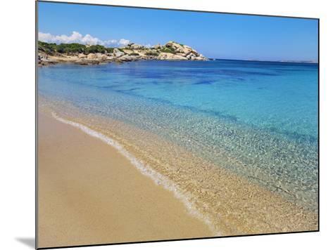 Beach at Spagia la Licciola-Frank Krahmer-Mounted Photographic Print