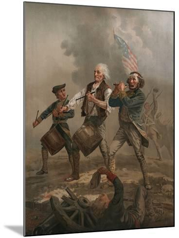 Yankee Doodle 1776-A^ M^ Willard-Mounted Photographic Print