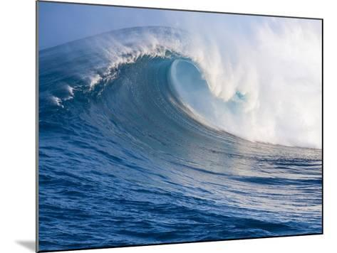 Breaking Waves at a Surfing Area called Peahi, North Shore of Maui, Hawaii-Ron Dahlquist-Mounted Photographic Print