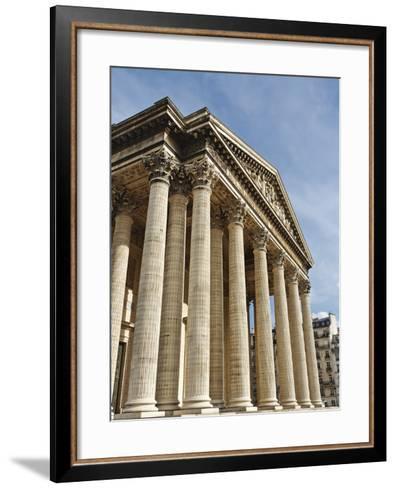Pantheon in Paris-Rudy Sulgan-Framed Art Print