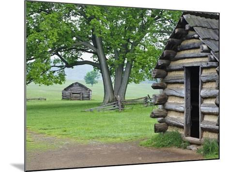 Cabin in Valley Forge National Historic Park-William Manning-Mounted Photographic Print