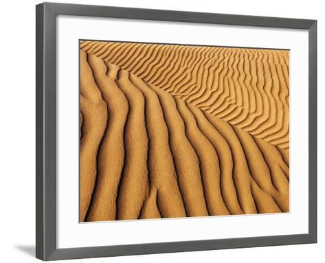 Dune structures-Frank Krahmer-Framed Art Print
