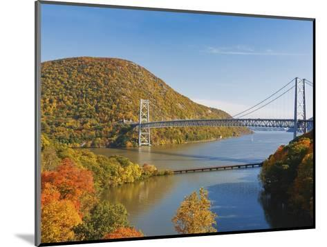 Bear Mountain Bridge spanning the Hudson River-Rudy Sulgan-Mounted Photographic Print