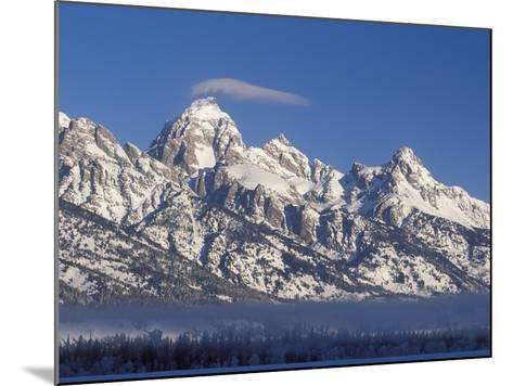 Banner Cloud on Summit of Grand Teton-Scott T^ Smith-Mounted Photographic Print