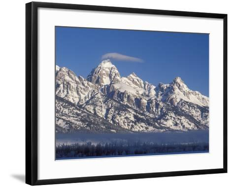 Banner Cloud on Summit of Grand Teton-Scott T^ Smith-Framed Art Print
