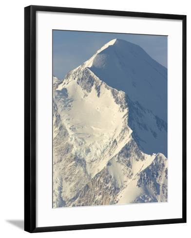 Ridge on Mt.McKinley-John Eastcott & Yva Momatiuk-Framed Art Print