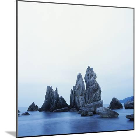 Dramatically Shaped Sea Stacks in Ocean-Micha Pawlitzki-Mounted Photographic Print