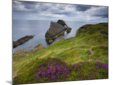 Bow Fiddle Rock, Portknockie, Scotland-Roland Gerth-Mounted Photographic Print