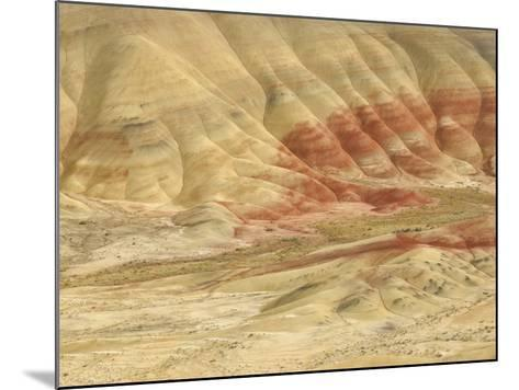 The Painted Hills at the John Day Fossil Beds National Monument, Oregon, USA-Peter Carroll-Mounted Photographic Print