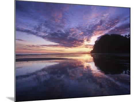Queen Charlotte Islands, (Haida Gwaii), Tow Hill on Graham Island at Dawn, British Columbia, Canada-Chris Cheadle-Mounted Photographic Print