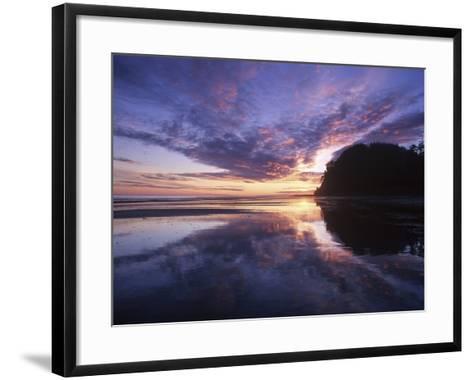Queen Charlotte Islands, (Haida Gwaii), Tow Hill on Graham Island at Dawn, British Columbia, Canada-Chris Cheadle-Framed Art Print