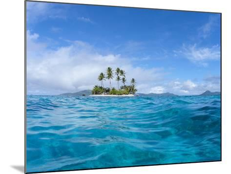 Tropical island, Micronesia--Mounted Photographic Print