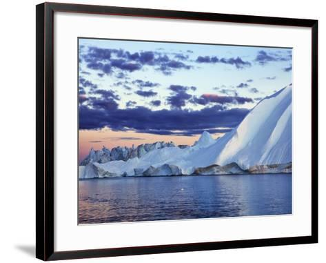 Iceberg in Disko Bay-Frank Krahmer-Framed Art Print