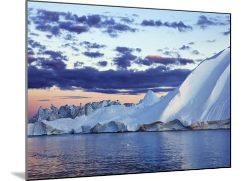 Iceberg in Disko Bay-Frank Krahmer-Mounted Photographic Print
