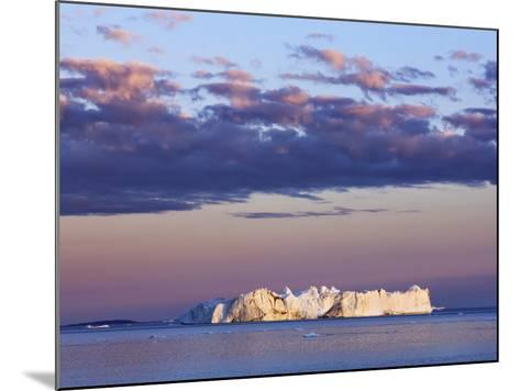 Iceberg on Disko Bay-Frank Krahmer-Mounted Photographic Print