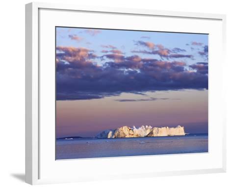 Iceberg on Disko Bay-Frank Krahmer-Framed Art Print