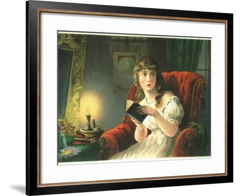 The Ghost Story-Robert William Buss-Framed Art Print