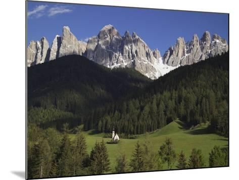 St. Giovanni Church in Val di Funes-Richard Klune-Mounted Photographic Print