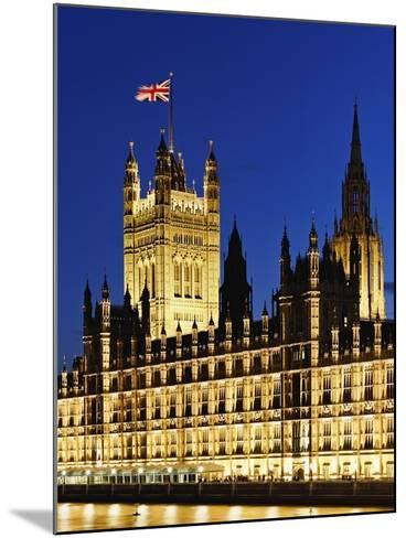 Victoria Tower and Houses of Parliament-Rudy Sulgan-Mounted Photographic Print
