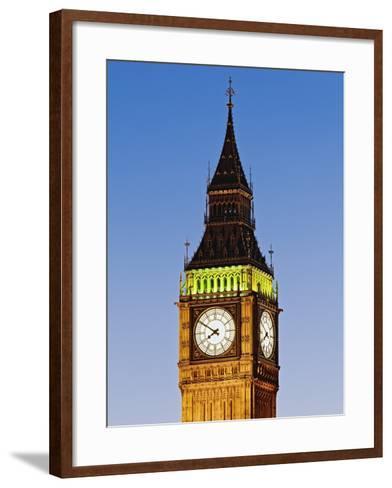 Big Ben-Rudy Sulgan-Framed Art Print