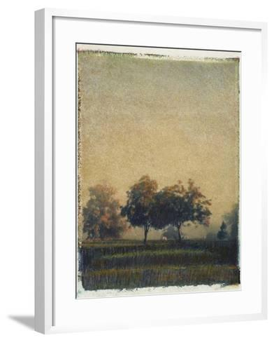 Sheep Meadow-Jennifer Kennard-Framed Art Print