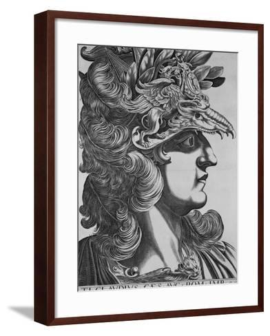 T. T. Claudius Caesar, Emperor of Rome-Antonius-Framed Art Print