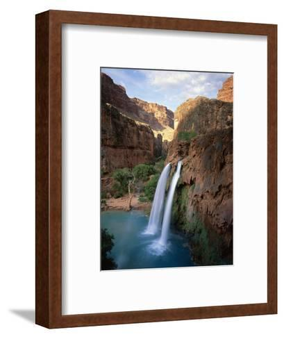 Havasu Falls-James Randklev-Framed Art Print